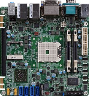 Процессорная плата mini-ITX  на чипсете AMD A70M от DFI